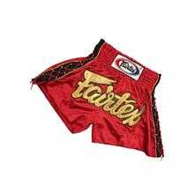 Red &quot;Spider&quot; Muay Thai Shorts -...